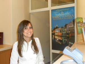 Tiziana in the Tumski Hotel