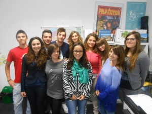 Students from Eurocentro